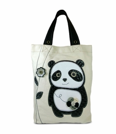 Dada Panda Simple Tote - White