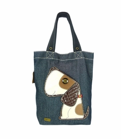 Dog Simple Tote (Denim)