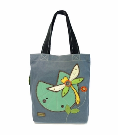 NEW! - Dragonfly Simple Tote - Indigo