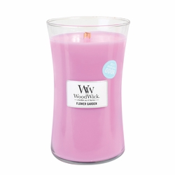 Flower Garden WoodWick ODOR NEUTRALIZING Candle 22 oz. | WoodWick Odor Neutralizing Collection