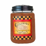 NEW! - Frosted Pecan Pie 26oz Large Jar Candleberry Candle | Large Jar Candles by Candleberry