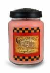 Georgia Peaches 26oz Large Jar Candleberry Candle | Large Jar Candles by Candleberry