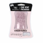 NEW! - Ginger Flower WoodWick Car Vent Freshener | Car Vent Fresheners - Woodwick Fall & Winter 2015
