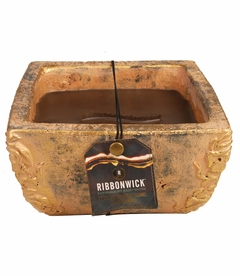 COMING SOON! - Greenhouse Garden Stone Large Premium RibbonWick Candle