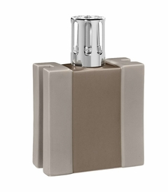 CLOSEOUT - H Taupe Fragrance Lamp by Lampe Berger