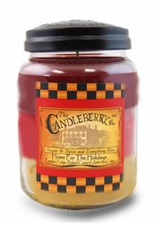 *Home for the Holidays 26 oz. Large Jar Candleberry Candle | Large Jar Candles by Candleberry