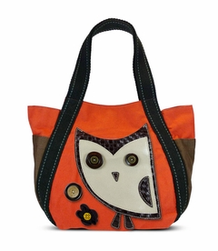 Hoohoo Owl Carryall Tote - Orange