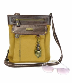 TEMPORARILY OUT OF STOCK - NEW! - Hoohoo Owl Chala Gemini XBody Bag (Mustard)