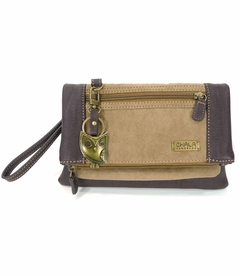 Hoohoo Owl Chala Wallet XBody Bag (Brown)