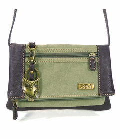 NEW! - Hoohoo Owl Chala Wallet XBody Bag (Olive)