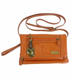 Hoohoo Owl Chala Wallet XBody Bag - Orange