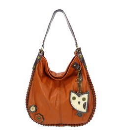 Hoohoo Owl Hobo Handbag - Orange