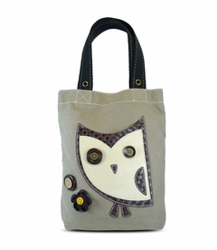 Hoohoo Owl Simple Tote (Brown)