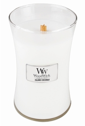 Island Coconut WoodWick Candle 22 oz. | WoodWick Fragrance Of The Month