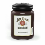 NEW! - Jim Beam Bourbon 26 oz. Large Jar Candleberry Candle | New Releases by Candleberry