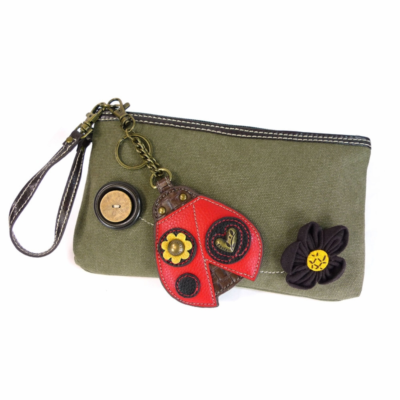 Ladybug Clutch with Coin Purse