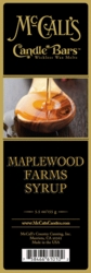 Maplewood Farms McCall's Candle Bar | New Releases by McCall's
