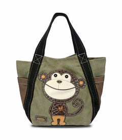 CLOSEOUT - Monkey Carryall Tote - Olive