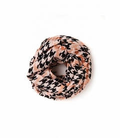 NEW! - Multi Color Houndstooth Viscose Scarf by Spartina 449