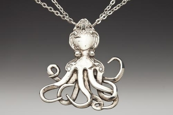 DISCONTINUED Octopus Spoon Necklace