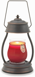 Oil Rubbed Bronze Hurricane Candle Warmer Lantern