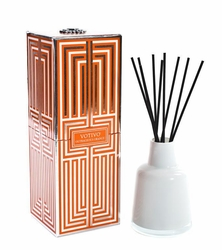 Outrageous Orange Soziety Reed Diffuser Votivo Candle | Soziety Collection Reed Diffuser Votivo Candle