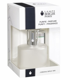 NEW! - Ovalie Frosted Fragrance Lamp Boxed Set by Lampe Berger