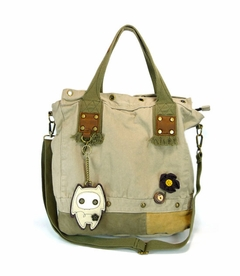 Patch Square Tote (Alien Baby)