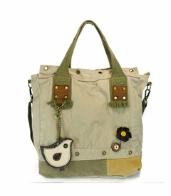 Patch Square Tote (Bird)