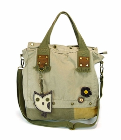 Patch Square Tote (Owl)