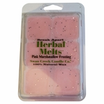 NEW! - Pink Marshmallow Frosting 4.75oz Swan Creek Candle Drizzle Melts | 4.75oz Drizzle Melts
