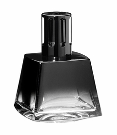 Polygone Black Fragrance Lamp by Lampe Berger