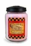 Raspberry Lemonade 26oz Large Jar Candleberry Candle | Large Jar Candles by Candleberry