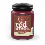 NEW! - Red Stag Spiced 26 oz. Large Jar Candleberry Candle | New Releases by Candleberry