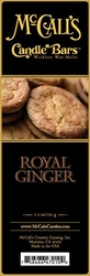 Royal Ginger McCall's Candle Bar | Candle Bars by McCall's