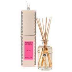 Rush of Rose Aromatic Reed Diffuser Votivo Candle | Aromatic Collection Reed Diffuser Votivo Candle