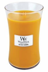 Sea Salt Caramel WoodWick Candle 22 oz. | Woodwick Candles 22 oz.