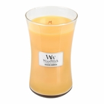 NEW! - Seaside Mimosa WoodWick Candle 22 oz. | New Spring & Summer WoodWick Scents
