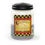 NEW! - Silver White Winters 26 oz. Large Jar Candleberry Candle | New Releases by Candleberry