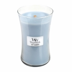 NEW! - Soft Chambray WoodWick Candle 22 oz. | New Spring & Summer WoodWick Scents