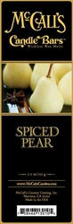 Spiced Pear McCall's Candle Bar | Candle Bars by McCall's