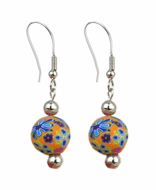 CLOSEOUT - Splash of Multi Chunky Earrings - Viva Beads