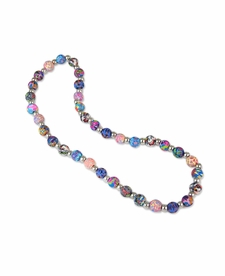 NEW! - Splash of Multi Classic Necklace - Viva Beads