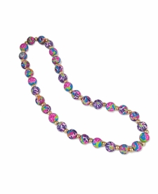 NEW! - Splash of Pink Chunky Necklace - Viva Beads