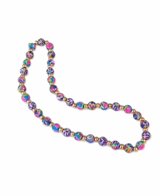 NEW! - Splash of Pink Classic Necklace - Viva Beads