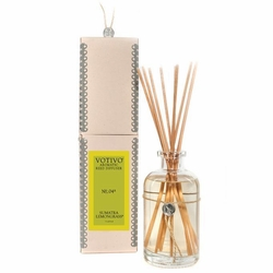 Sumatra Lemongrass Aromatic Reed Diffuser Votivo Candle | Aromatic Collection Reed Diffuser Votivo Candle
