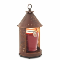 NEW! - Sunshine - Rustic Tin Punched Candle Warmer Lantern