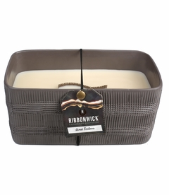 NEW! - Sweet Embers Large Rectangle Premium RibbonWick Candle