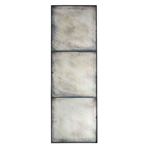 Three Panel Large Antiqued Mirror By Aidan Gray