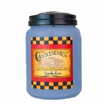 NEW! - Vanilla Rain 26oz Large Jar Candleberry Candle | Large Jar Candles by Candleberry